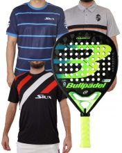 PACK BULLPADEL HACK 20, CAMISETAS SIUX Y POLO SIUX