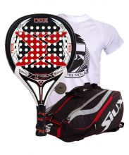 PACK NOX STINGER 2.1 AND SIUX MASTERCOMBI RED PADEL RACKET BAG