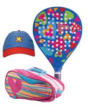 PACK AGATHA HEAVEN AND HEART RELIEF PADEL RACKET BAG