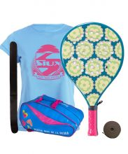 PACK AGATHA CANDY JUNIOR AND AGATHA RAINBOW PADEL RACKET BAG