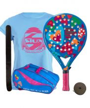 PACK AGATHA RAINBOW JUNIOR AND RAINBOW PADEL RACKET BAG