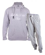 SIUX OUTFIT CLASSIC GREY SWEATSHIRT AND FURTIVE GREY SWEATPANTS
