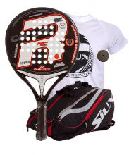 PACK ROYAL PADEL ANNIVERSARY M27 AND SIUX MASTERCOMBI RED PADEL RACKET BAG
