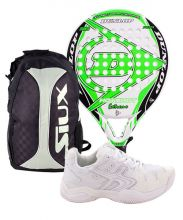 PACK DUNLOP HOT SHOT EXTREME Y SOFTEE PADEL WINNER 1.0