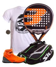 PACK BULLPADEL LEGEN 2.0 AND SIUX MASTERCOMBI GREEN PADEL RACKET BAG