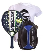 PACK BABOLAT COUNTER VIPER Y MOCHILA VISION AZUL