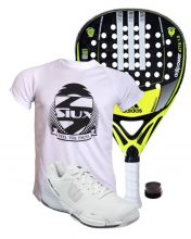 PACK ADIDAS ADIPOWER ATTK 1.8 AND WILSON PADEL SHOES