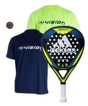 PACK ADIDAS MATCH 1.9 ET T-SHIRT VISION