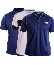 PACK 3 WINGPADEL POLO SHIRTS, W-THEO WHITE BLACK, W-IVO NAVY BLUE AND MIPER NAVY BLUE