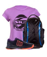 PACK WILSON ASTRAL BLUE WOMEN AND SIUX DIABLO BLUE BACKPACK