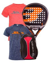PACK BULLPADEL LEGEND 2.0 LIMITED EDITION AND VISION BACKPACK