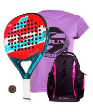 PACK BABOLAT STORM WOMAN AND SIUX DIABLO FUCHSIA BACKPACK