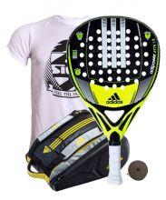 PACK ADIDAS ADIPOWER ATTK 1.8 AND ADIPOWER PADEL RACKET BAG
