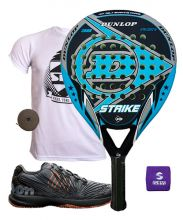 PACK DUNLOP STRIKE Y ZAPATILLAS WILSON