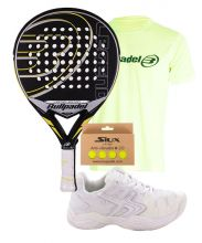 PACK BULLPADEL LEGEND LIMITED EDITION UND SOFTEE TURNSCHUHE