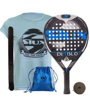 PACK SIUX DIABLO JUNIOR 18 BLUE AND SIUX BLUE SHIRT