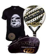 PACK KUGAN IRON AND CAZZEC PADEL RACKET BAG