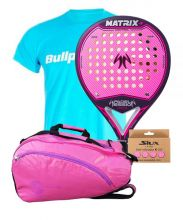 PACK WOMAN PADEL SESSION MATRIX 4 AND PADEL BAG SOFTEE
