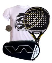 PACK BULLPADEL LEGEND LIMITED EDITION AND VARLION HEXAGON SILVER PADEL RACKET BAG