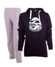 PACK SIUX BELICE NAVY SWEATSHIRT AND SIUX BANDIT GREY SWEATPANTS