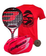 PACK BULLPADEL K3 LTD ROJA Y PALETERO BULLPADEL BPP18004