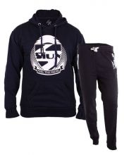 SIUX OUTFIT PREMIUM NAVY SWEATSHIRT AND DIABLO NAVY SWEATPANTS