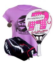 PACK ROYAL PADEL RP 790 WHIP WOMEN AND SIUX MASTERCOMBI PADEL RACKET BAG