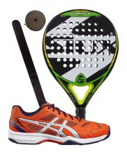 PACK SIUX FURTIVE PRO ET CHAUSSURES ASICS GEL PADEL EXCLUSIVE 4SG