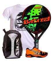 PACK BABOLAT DEFIANCE CARBON AND SOFTEE WINNER 1.0 ORANGE PADEL SHOES