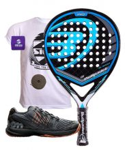 PACK BULLPADEL BLACK DRAGON Y ZAPATILLAS WILSON