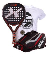 PACK NOX ULTIMATE AND SIUX MASTERCOMBI RED PADEL RACKET BAG