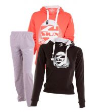 PACK SIUX BELICE CORAL, BELICE BLACK SWEATSHIRT AND SIUX BANDIT SWEATPANTS