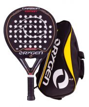 PACK ORYGEN CARBON EDITION JUNIOR AND ORYGEN YELLOW PADEL RACKET BAG