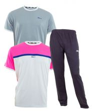 PACK SIUX BLUE SWEATPANTS AND APOLO CORA SHIRTS