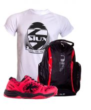 PACK KELME K-SPIKE PADEL SHOES AND SIUX BACKPACK AND SHIRT