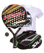 PACK KUGAN EXTREME 2.0 AND SIUX MASTERCOMBI GREEN PADEL RACKET BAG