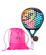 PACK BULLPADEL IRIS JUNIOR Y GYMSACK MOCHILA SIUX