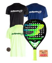Pack Bullpadel Hack 02 Y 3 CAMISETAS BULLPADEL
