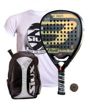 PACK BULLPADEL HACK 2018 AND SIUX GREY BACKPACK