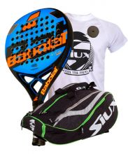 PACK BABOLAT REVENGE TOUR AND SIUX MASTERCOMBI GREEN PADEL RACKET BAG