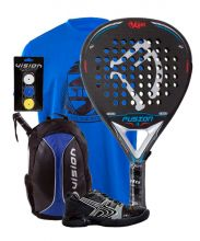 PACK KAITT FUSION Y ZAPATILLA SOFTEE PADEL WINNER 1.0