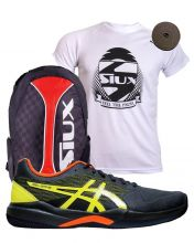 PACK ASICS GEL GAME 7 Y MOCHILA SIUX TRAIL 2.0