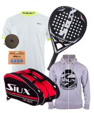 PACK SIUX PEGASUS JUNIOR AND SIUX DIABLO GRANPH PADEL RACKET BAG