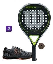 PACK WILSON CARBON FORCE PRO Y ZAPATILLAS WILSON