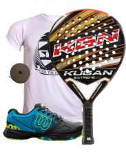 PACK KUGAN EXTREME 2.0 AND WILSON DEVO PADEL SHOES