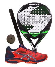PACK SIUX ORIGEN AND ASICS GEL LIMA PADEL PADEL SHOES