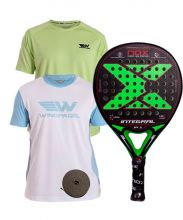 PACK NOX INTEGRAL P.1 PRO SERIES AND 2 WINGPADEL SHIRTS