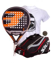 PACK BULLPADEL LEGEND 2.0 LIMITED EDITION AND SIUX MASTERCOMBI PADEL RACKET BAG