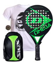PACK DUNLOP OMEGA GREEN AND SIUX YELLOW BACKPACK