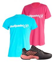PACK KSWISS AERO COURT E T-SHIRT BULLPADEL